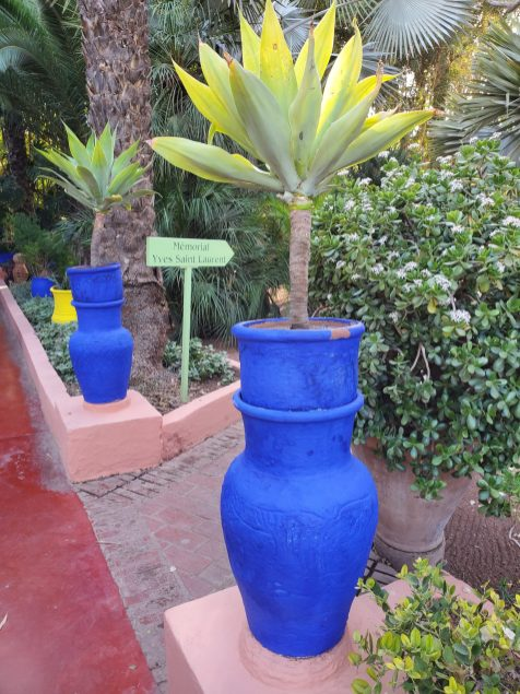 Memorial at Jardin Majorelle | Adventures with Shelby