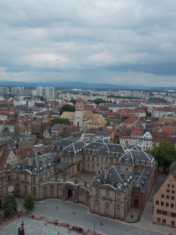 View from Notre Dame in Strasbourg   Adventures with Shelby
