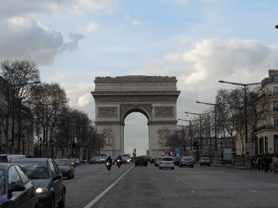 Arc de Triomphe | Adventures with Shelby