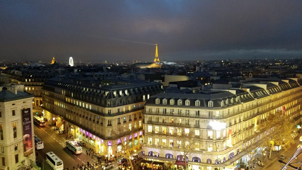 View from Galeries Lafayette in Paris | Adventures with Shelby