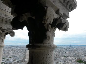 Cityscape View of Paris from Sacre Coeur | Adventures with Shelby
