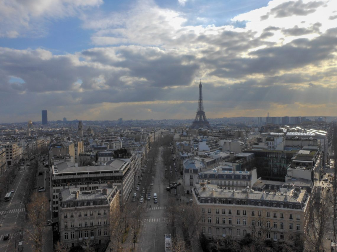 Top 5 Best Cityscape Views in Paris, France   Adventures with Shelby