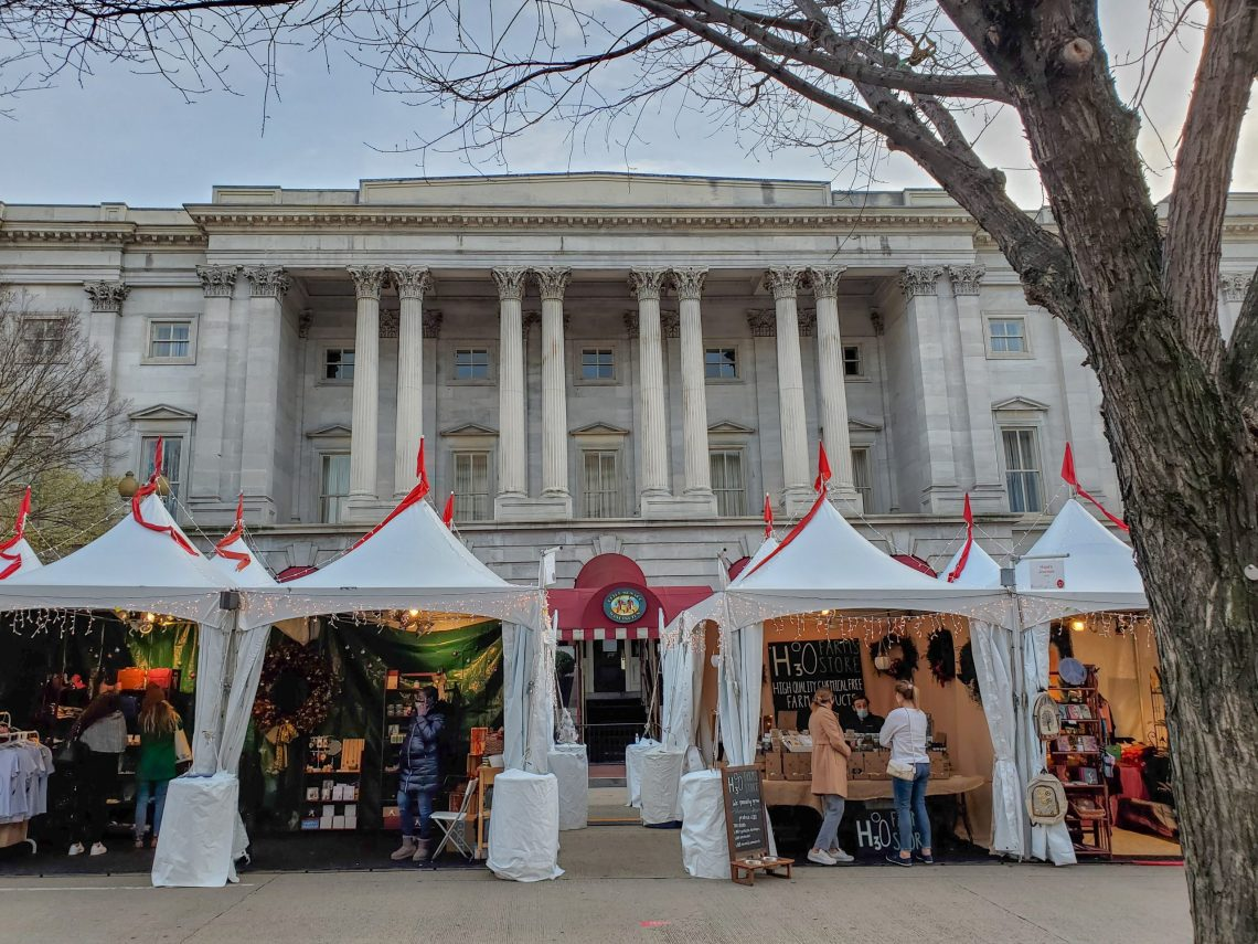 Downtown Holiday Market in Washington, DC   Adventures with Shelby