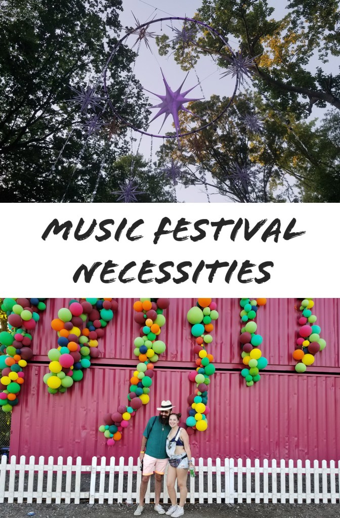 Music Festival Necessities | Adventures with Shelby