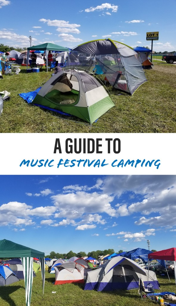 A Guide To Music Festival Camping