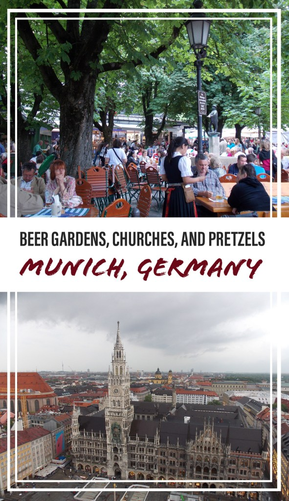 Beer Gardens, Churches, and Pretzels: Highlights of Munich, Germany | Adventures with Shelby