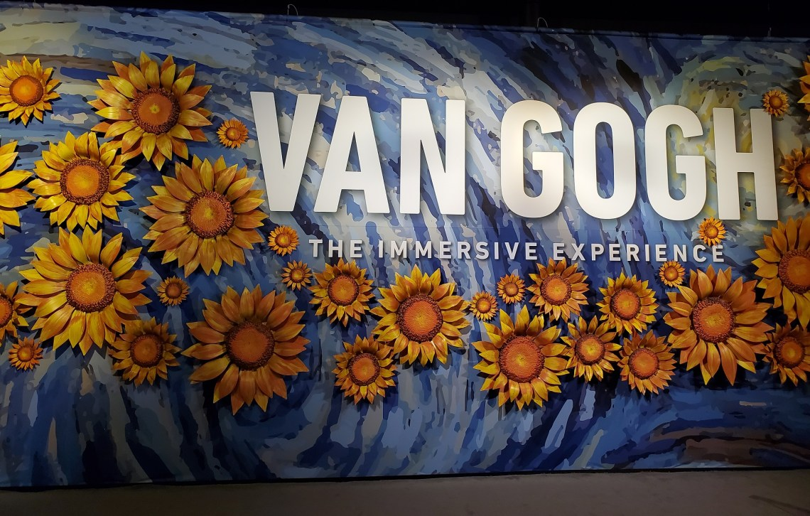 Van Gogh Immersive Experience   Adventures with Shelby