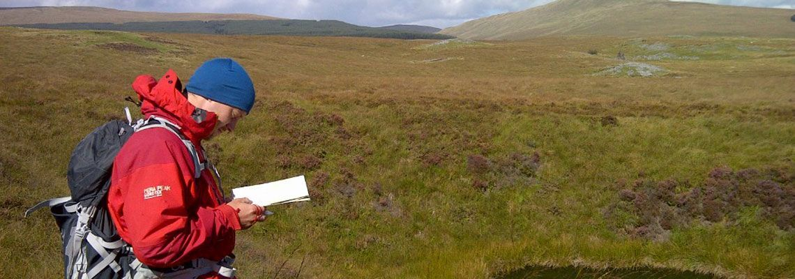 Hill and moorland Navigation Course in Brecon Beacons National Park, Adventures with Will