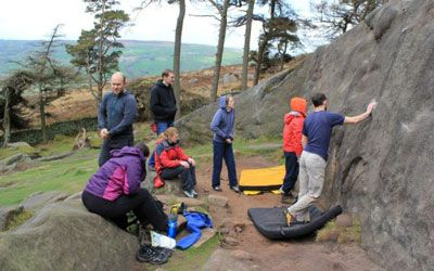 Learn to lead climb in Wales with a climbing course with Adventures With Will