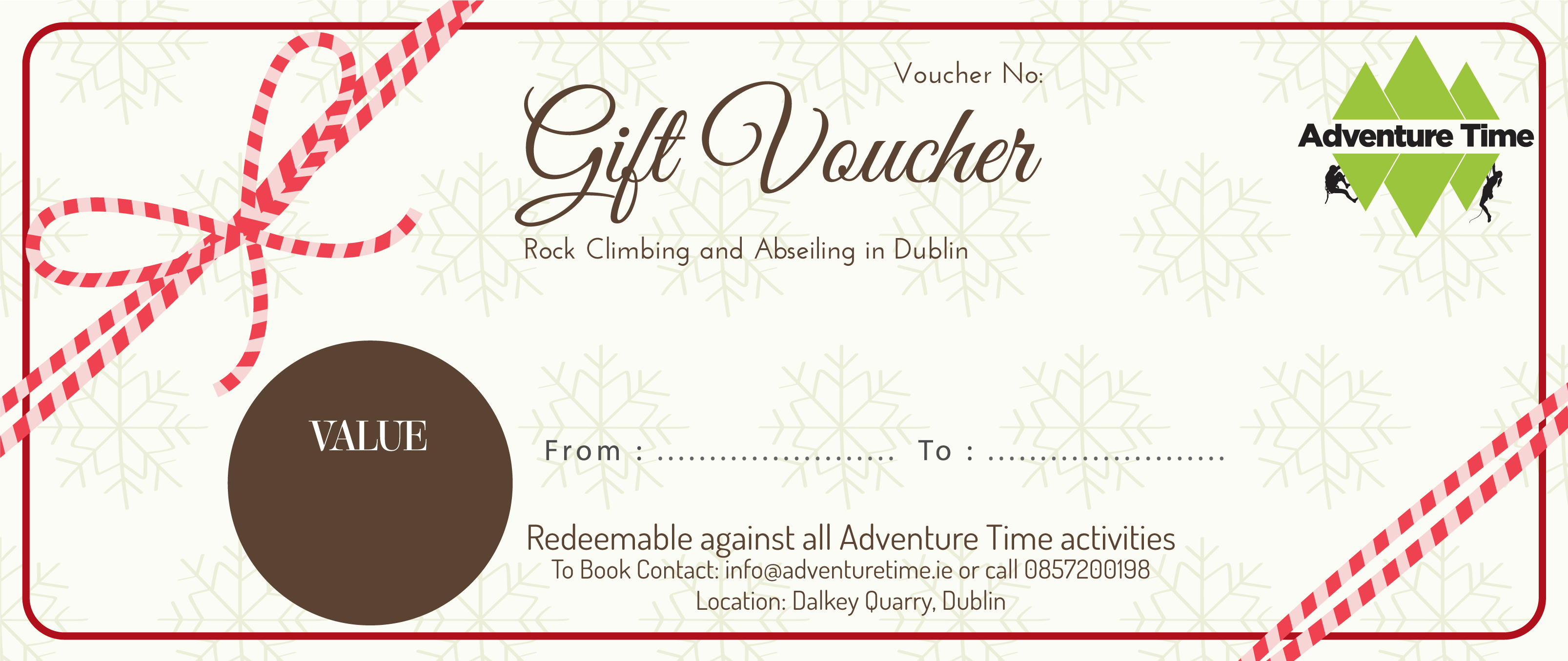 Examples Of Gift Vouchers Fiveoutsiders Com