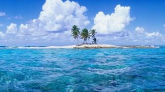 Islet in Funafuti Lagoon, Tuvalu