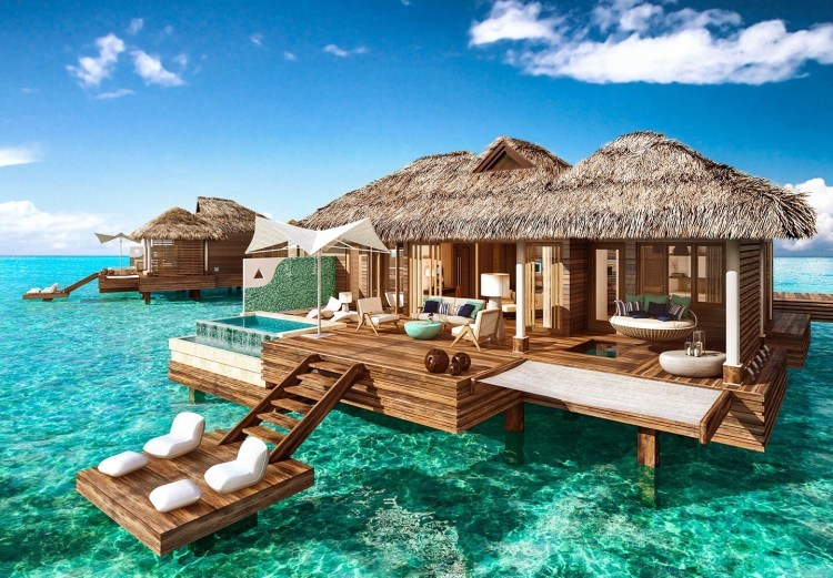 Sandals Overwater Bungalows, fo ra bucket-list resolution