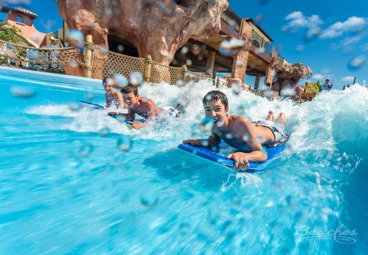 Beaches Turks and Caicos Surf Stream