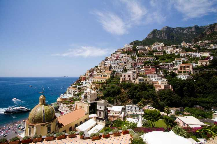 See nature's beauty on a cruise vacation onboard an Azamara cruise ship along Italy's Amalfi coast