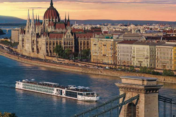 Exploring local cultures onboard a Viking river cruise in Budapest, Hungary