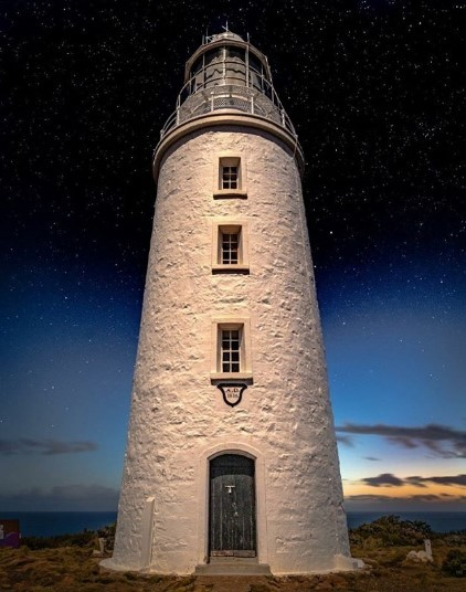 A guided tour of the Cape Bruny Lighthouse is included in our Bruny Island Overnight Tour