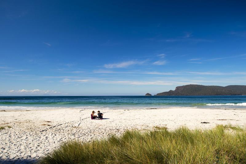Adventure Bay, Bruny Island - Photo Tourism Tasmania & Rob Burnett