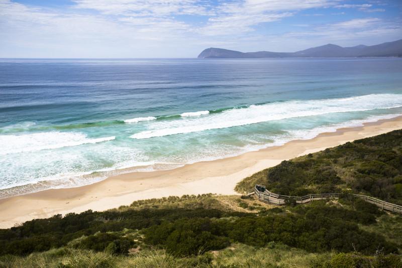 Neck Beach, Adventure Bay - Photo Tourism Tasmania and Andrew Wilson