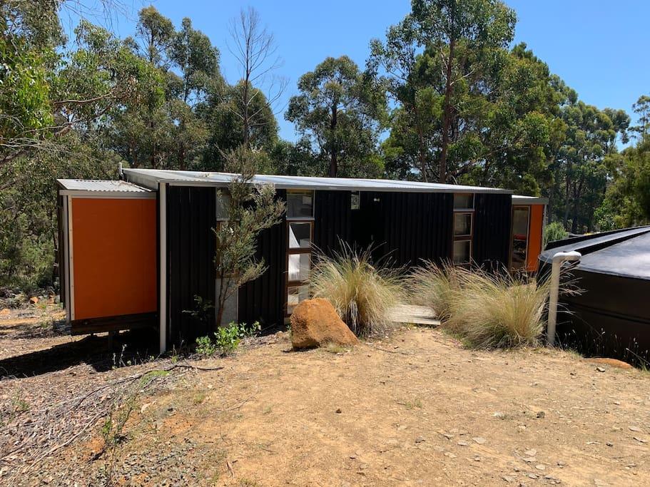 Francis Lane Tiny Studio self-contained accommodation on Bruny Island