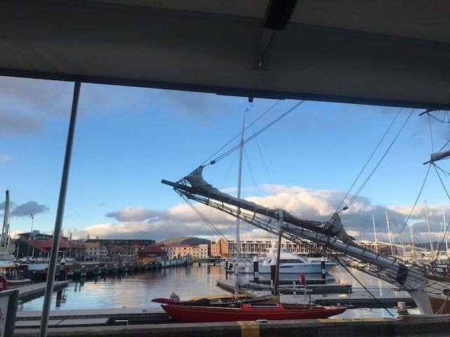 After your day touring with Adventure Trails Tasmania, take advantage of the long evenings during Summer and let us show you Hobart's Sullivan Cove, from the old wharf to the new.