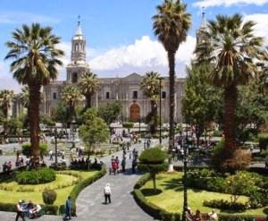 Centro histórico de la ciudad de Arequipa