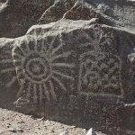 los petroglificos Calango