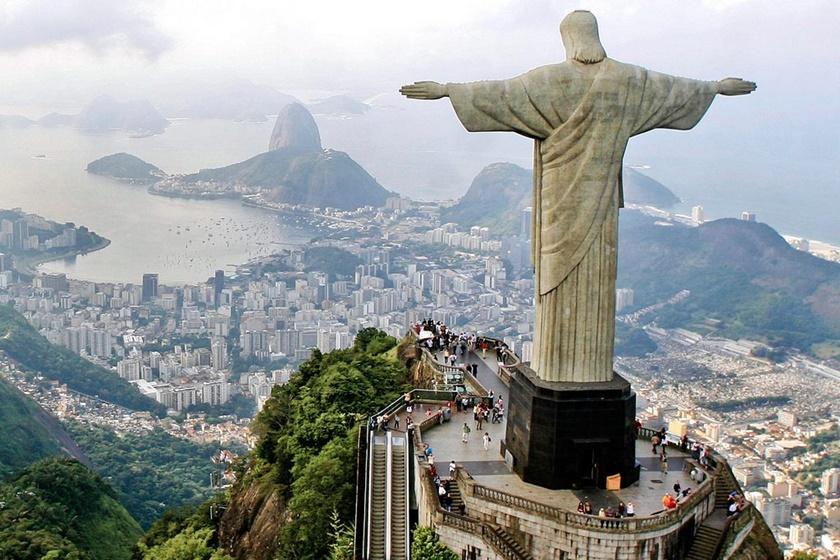 Cómo llegar al Cristo Redentor Río de Janeiro? Tren, van, carro y sendero.
