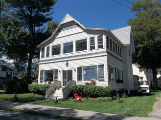 Another example from Thousand Island Park on Wellesley Island. The Park is a historic district listed on the National Register of Historic Places and consists of many different styles of summer homes.