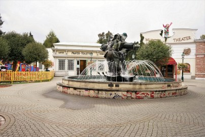 Fountain in the Prater