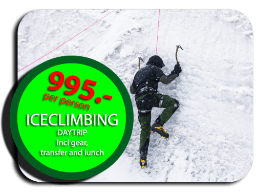 Ice-climbing in Åre, a full day activity