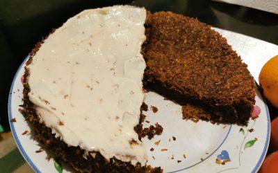 Vegansk och glutenfri morotskaka