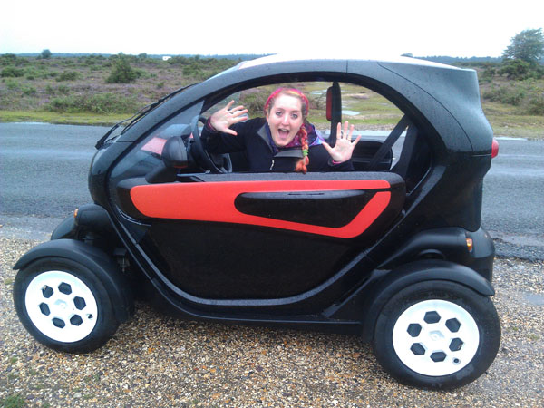 roo in twizy