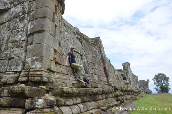 Tony at Preah Vihear Temple