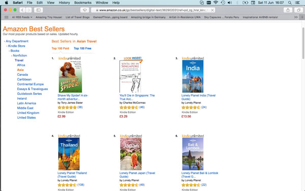 Bestseller Screen Shot