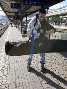 Snowboard bag