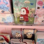 Design Stationery store - Little Red Riding Hood and the Mona Lisa, cat versions.