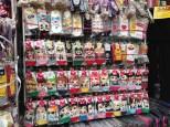 Namdaemun Market - pretty sure those are k-pop singers on the socks.
