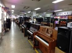 Nagwon Instrument Arcade in Insa-dong.