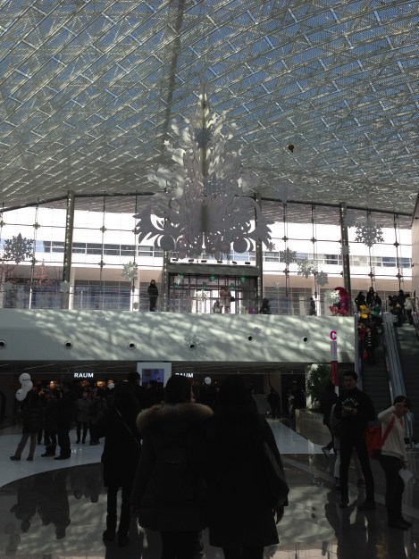Coex Mall - in the Christmas spirit.