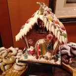 Gingerbread house at a party we went to. Hehe.
