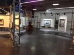 Art exhibition space.