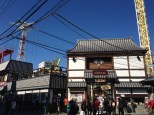 Asakusa Hana-yashiki -- the oldest amusement park in Japan, tucked away in the middle of this neighborhood.