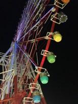 Giant Sky Wheel. View from below.