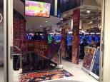 Pachinko arcade.