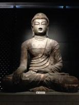 Large seated Buddha.