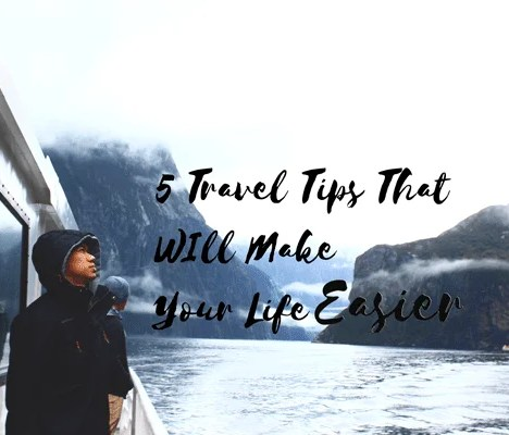 My Travel MUST-HAVES