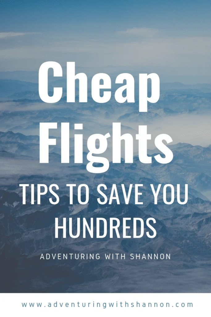 You won't believe how easy it can be to save hundreds. In this article you will find every tip and trick in the book on saving money and finding cheap flights. #travel #budgettravel #asia #europe #southamerica #africa #northamerica #tips #flights #traveltips #backpacking #newzealand #spain #italy #ireland #korea