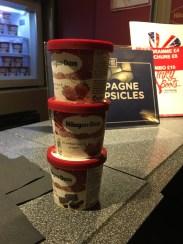 More ice cream of course