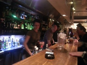 P and Peewee at Gamuso - Best Bartenders I've ever had!