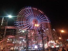 Ferriswheel in Yokohama